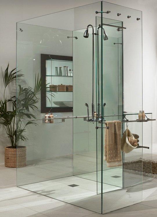 Imagenes de ba os en vidrio - Bloques de vidrio para bano ...