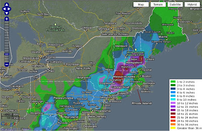 >ONE FOR THE AGES: Northeastern US brought to standstill following Historic October Snowstorm, Thai Floods Worsen