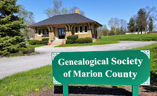 Genealogical Society of Marion County, 9350 E. Washington Street, Indianapolis