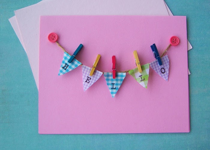 Wooden Alphabet Bunting Letter Treetop