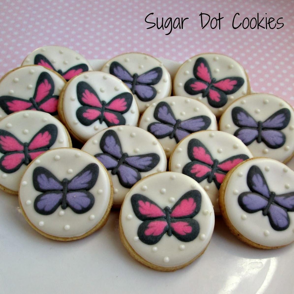 "These 2"" round co... Round Birthday Sugar Cookies"