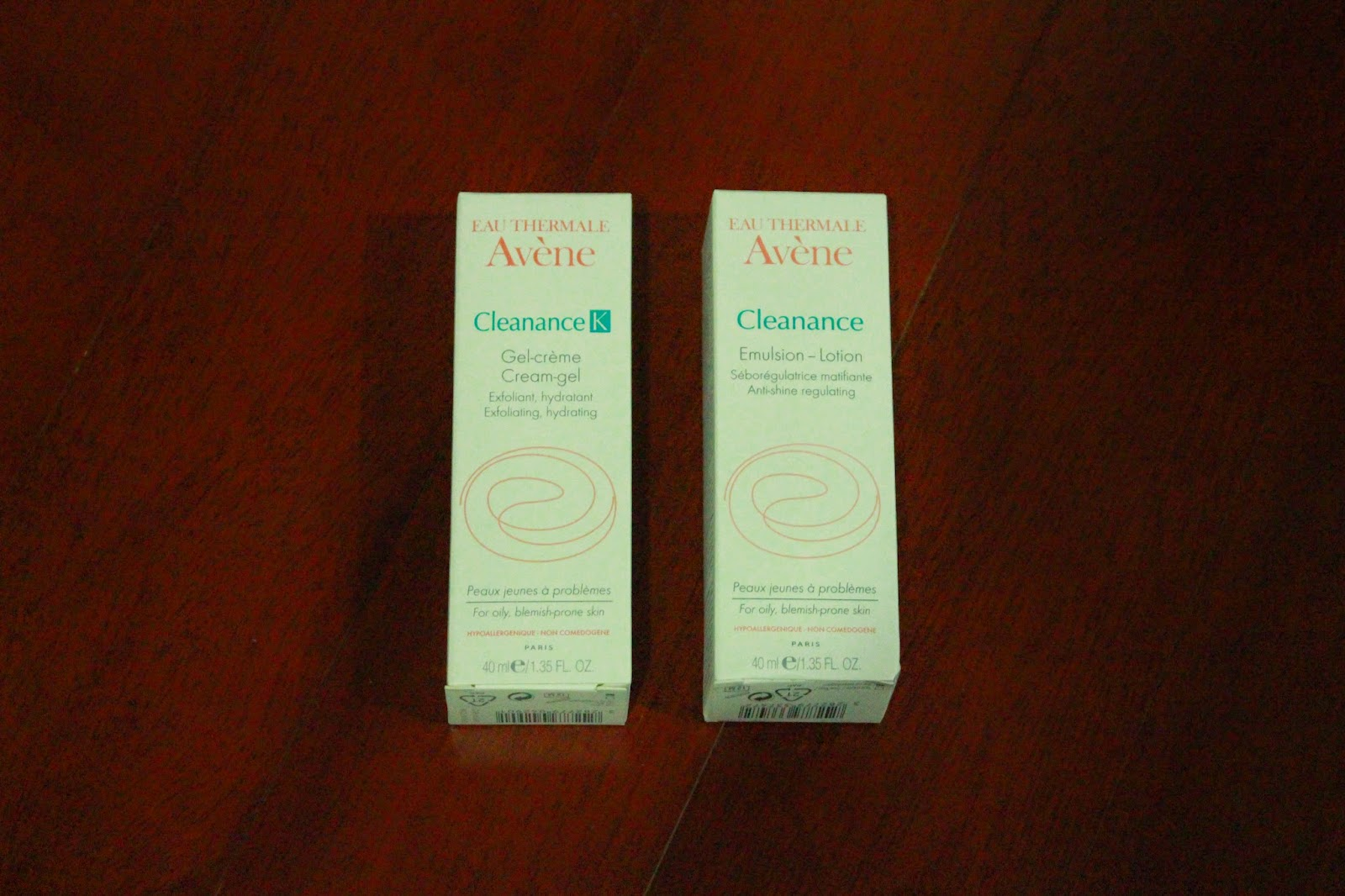 Avène Cleanance and Cleanance K creams