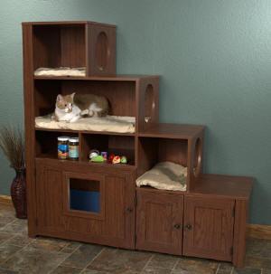 gatos cama de gato+(18) Decoração da casa e animais de estimação