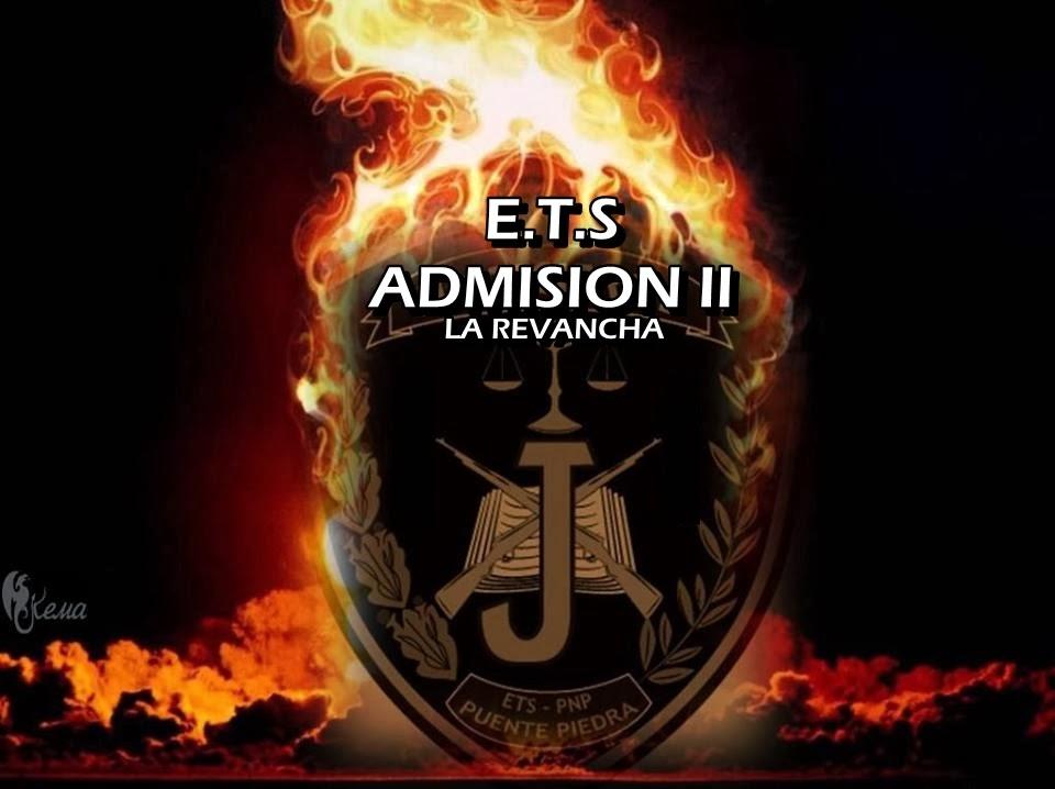 ETS PNP RESULTADOS Examen 8 de Enero 2014
