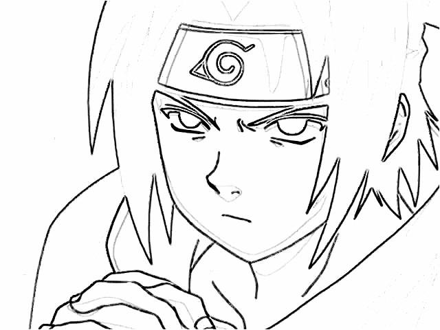Imagenes de Naruto para dibujar en blanco y negro  Imagui