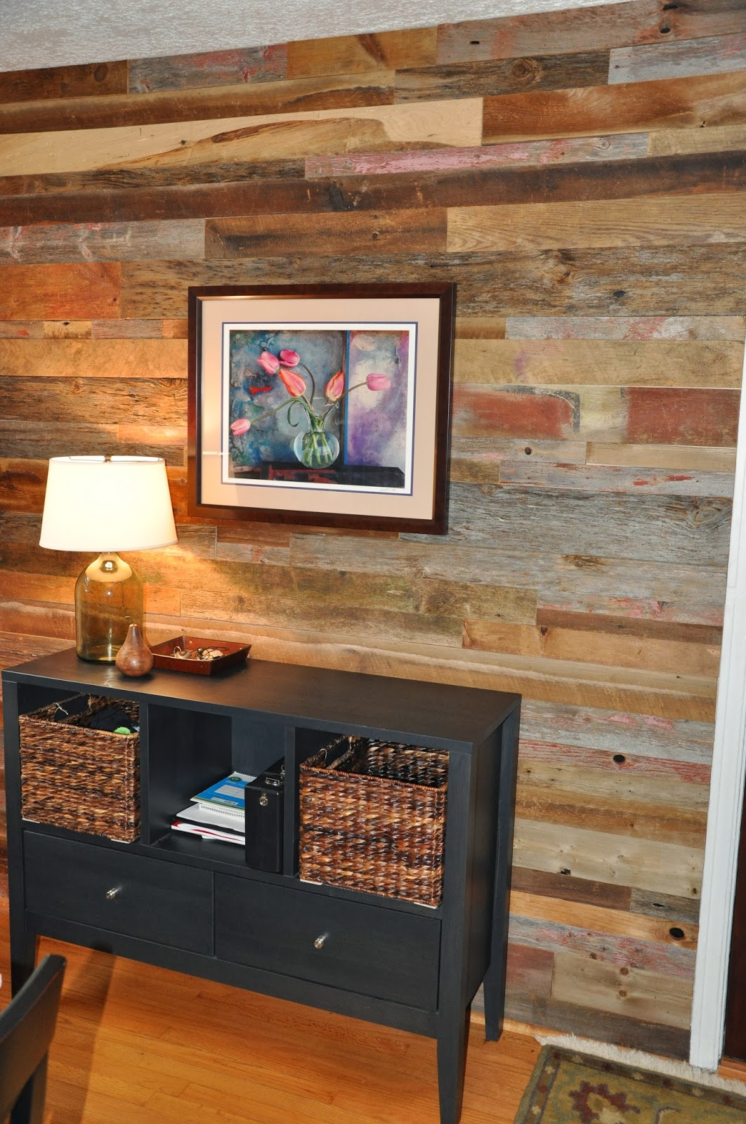 End Wall from Reclaimed Wood - Reclaimed Wood Chicago Gallery: Reclaimed Wood Vs Wall Paper