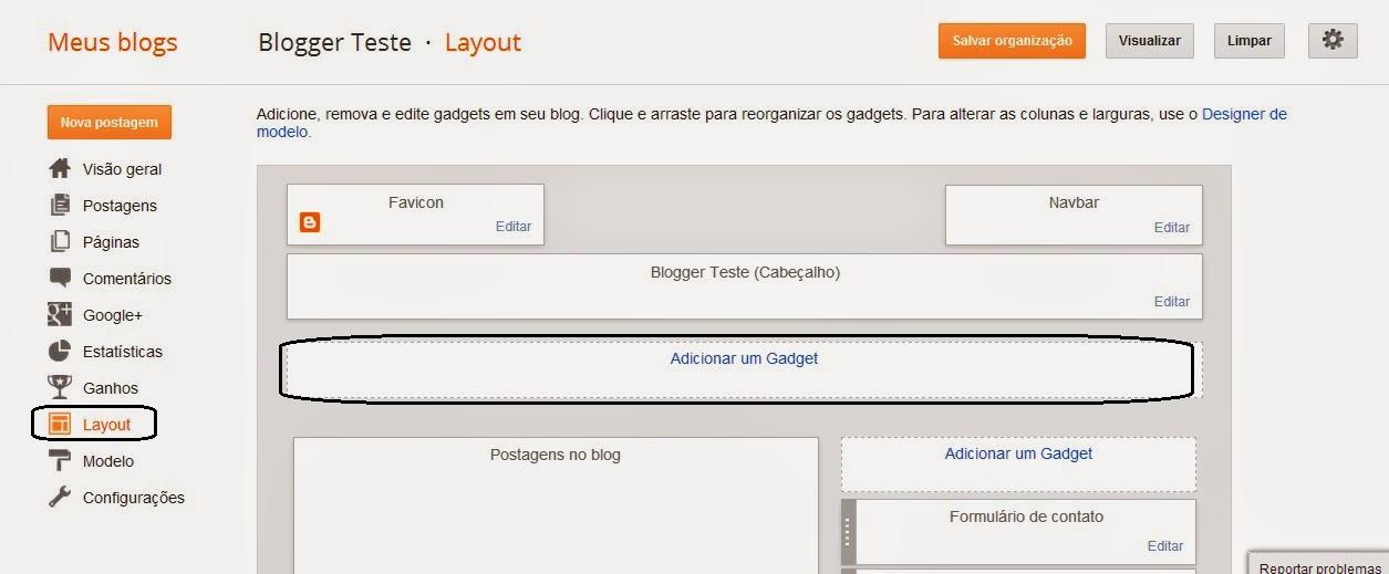 Formulário De Contato Para Blogger 10
