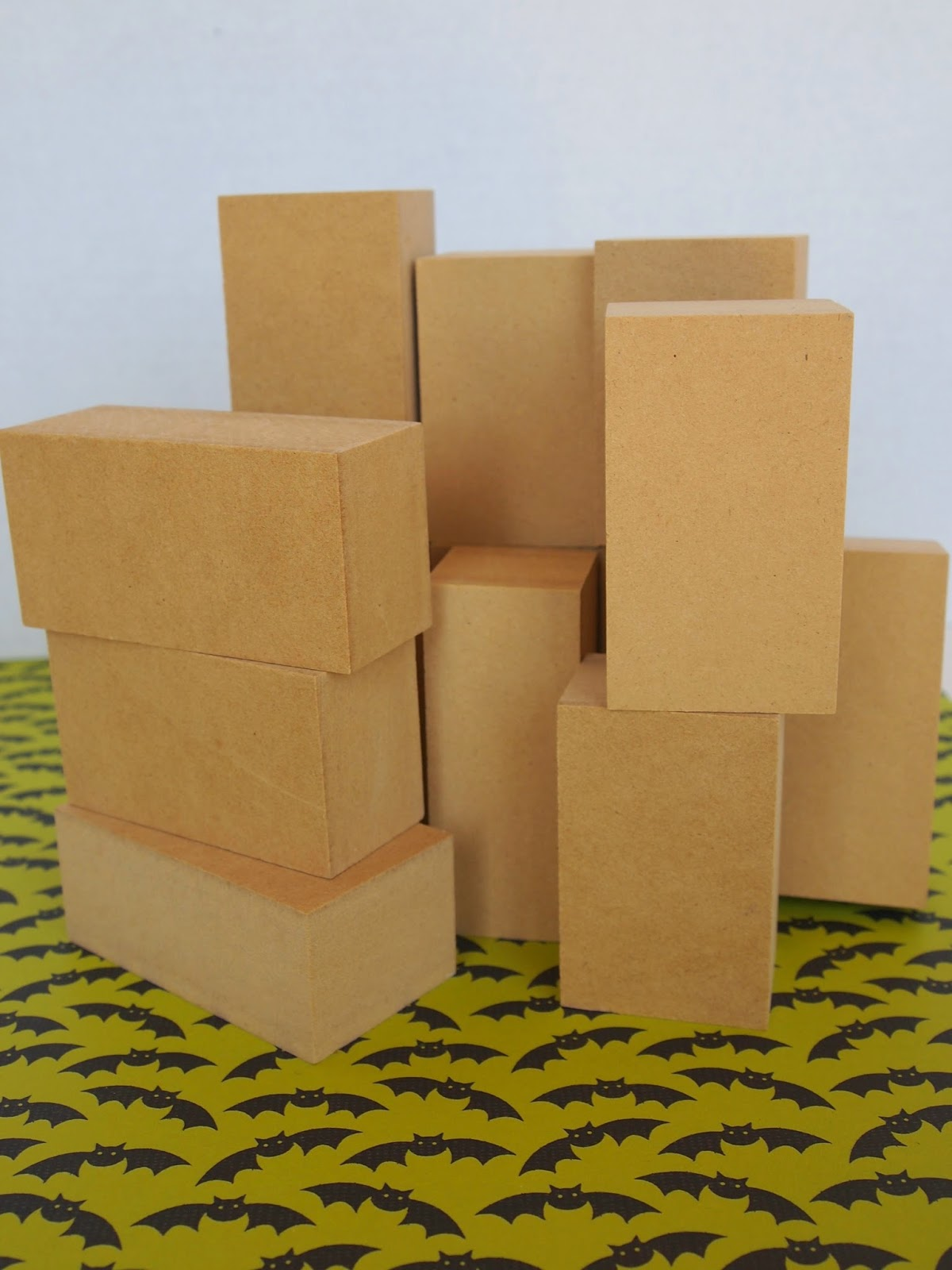 Ginger snap crafts easy fun halloween blocks tutorial for Where to buy wood blocks for crafts