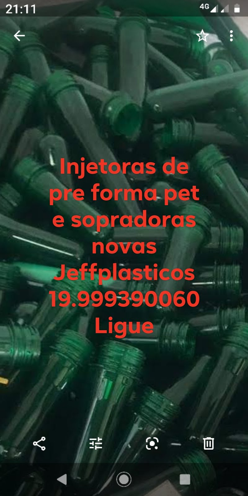 Sopradoras de frascos em pet de limpeza, alimenticios, farmaceuticos e outros Jeffplasticos
