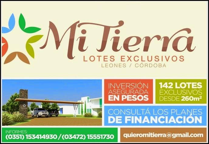ESPACIO PUBLICITARIO: MI TIERRA - LOTES EXCLUSIVOS