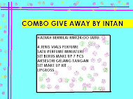 COMBO GIVE AWAY BY INTAN