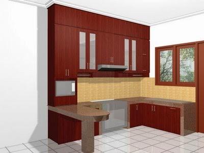Dapur rumah minimalis 1