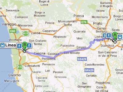 collegamento Firenze-Pisa