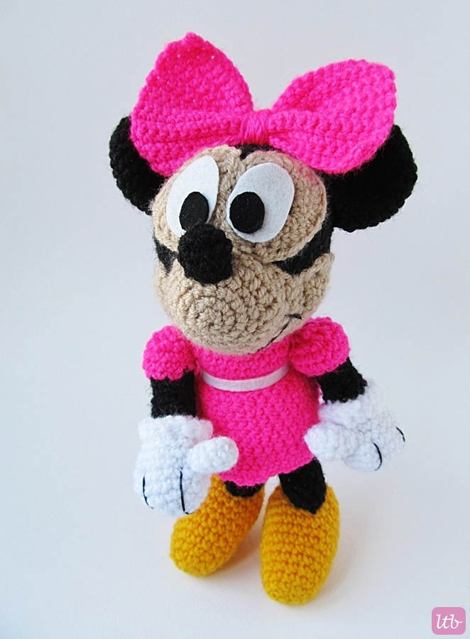 {Amigurumi Minnie Mouse} - Little Things Blogged