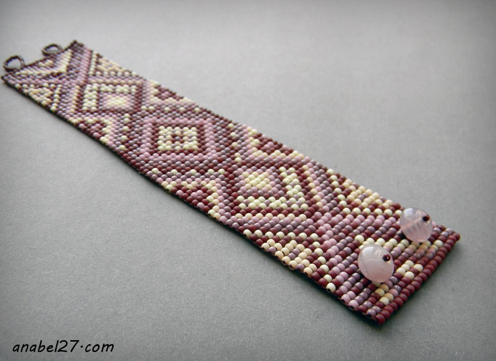 купить этнический браслет из бисера