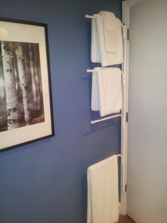 In My Guest Bathroom, In An Effort To End This Nonsense And To Create A  Place For Towels To Hang When I Have Guests, I Found This Great Towel Rack  That ...