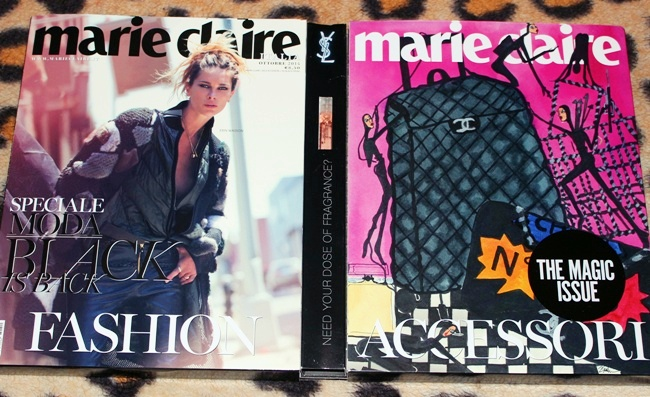 Marie Claire Italy Octobre 2014. Fashion and style, beauty. Double issue, special edition.