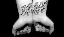 No Lies Just Love Best Friend Tattoo