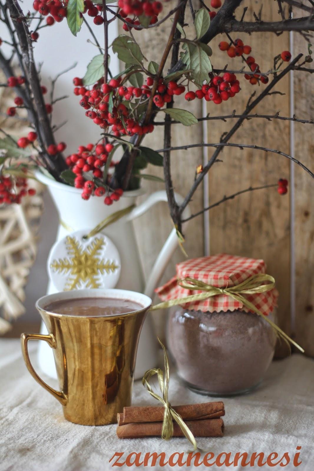 Karanfilli sıcak çikolata tarifi