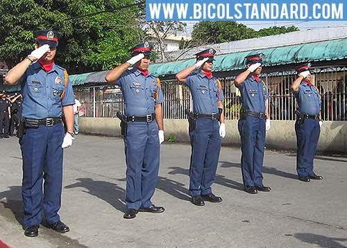 Members of the Philippine National Police