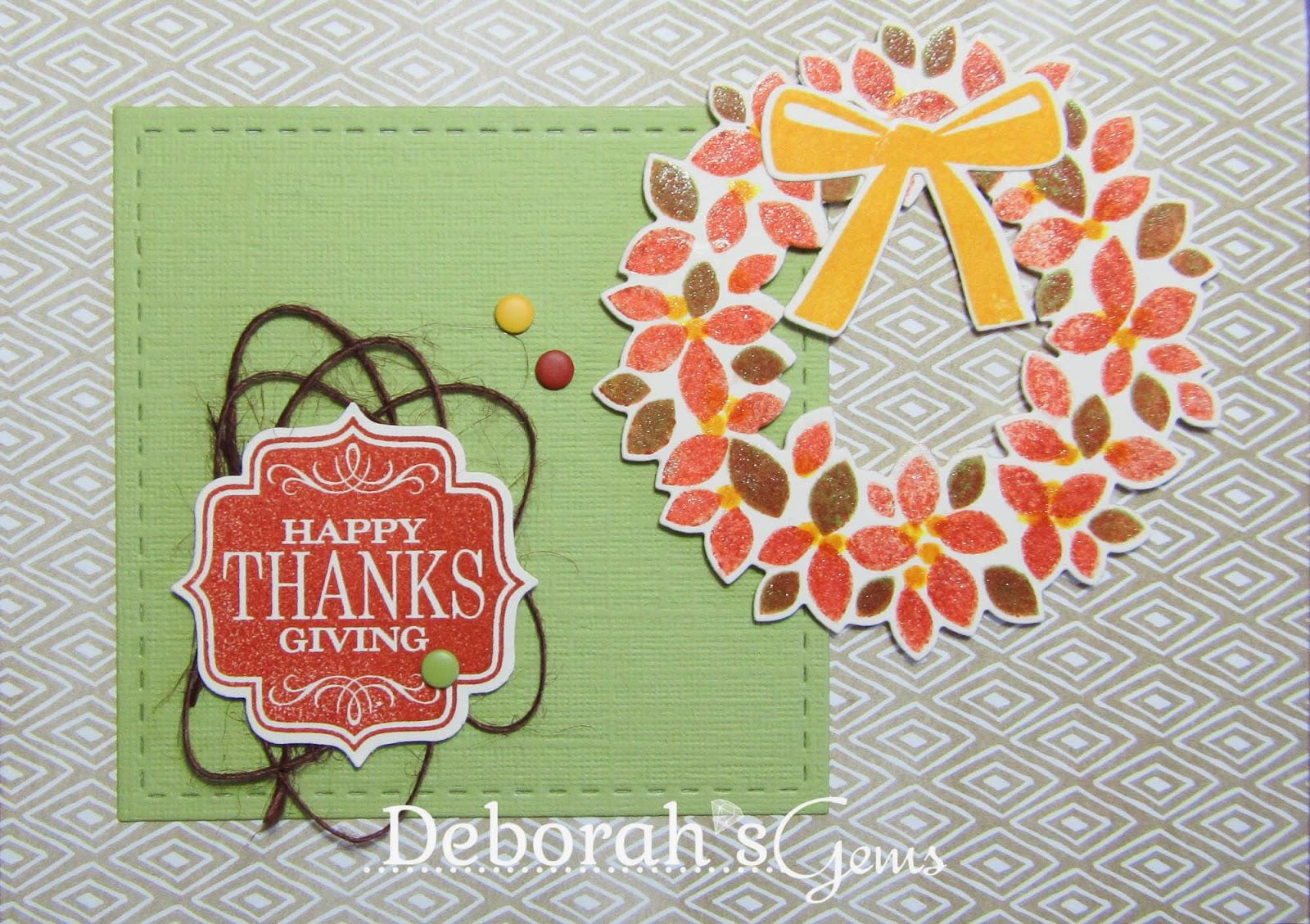 Happy Thanksgiving - photo by Deborah Frings - Deborah's Gems