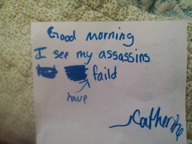 most hilarious kids notes