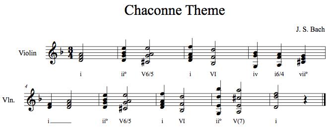 The Music Salon The Bach Chaconne