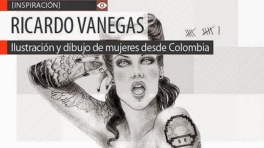 Ilustración y dibujo de mujeres de RICARDO VANEGAS