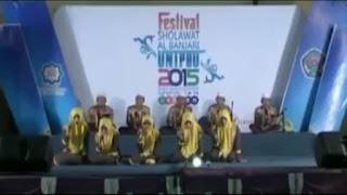 Khudzuni (New) – Muhasabatul Qolbi (Festival Al-Banjari UNIPDU 2015)