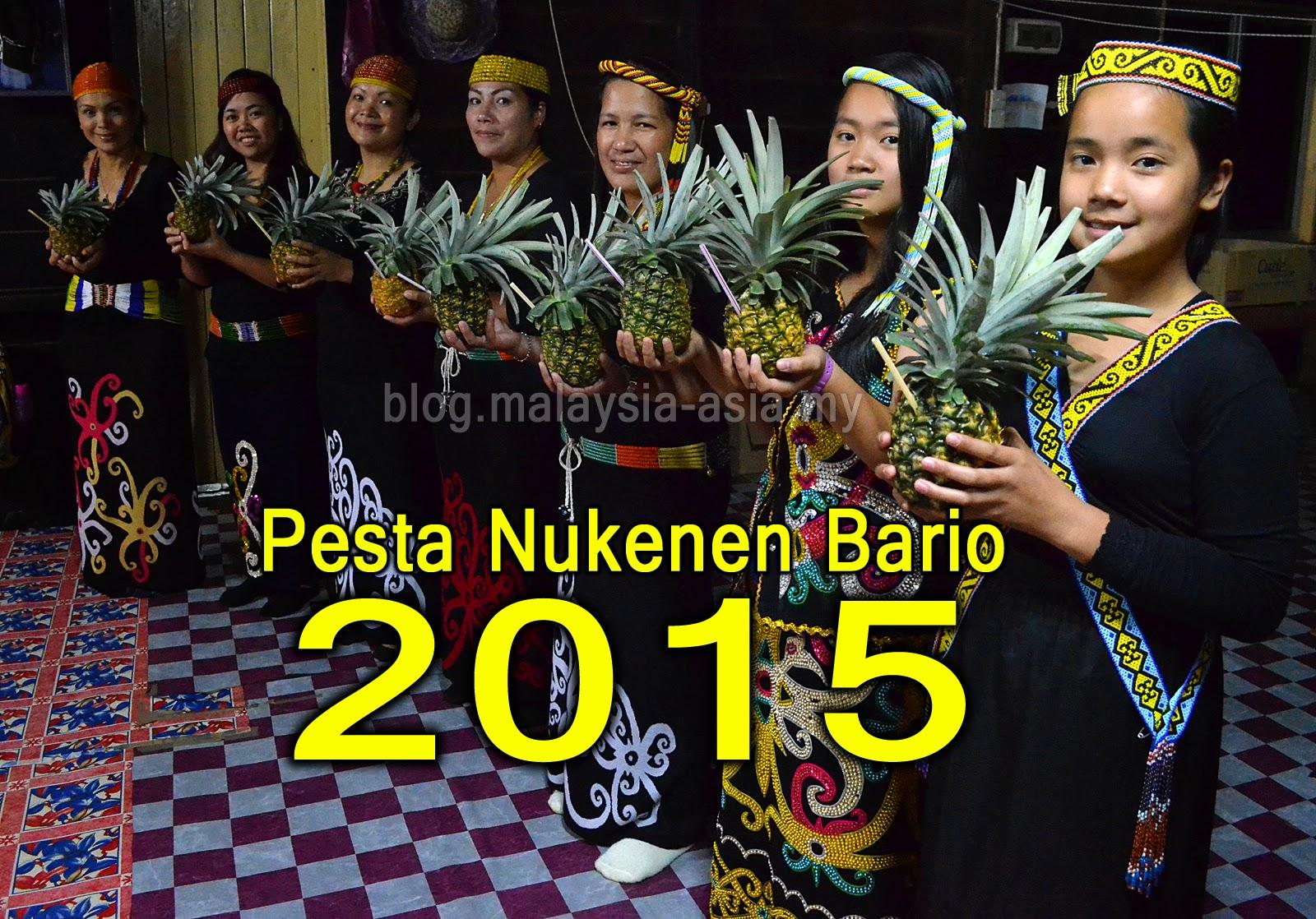 Pesta Nukenen Bario 2015