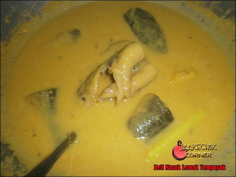 masak lemak tempoyak, ikan keli masak lemak, ikan keli masak lemak tempoyak, my resepi, resepi, cara masak ikan keli, ikan keli tumis berlada, telor ikan keli,
