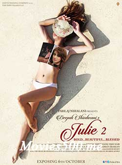 Julie 2 2017 Hindi Full Movie 700MB PDVDRip 720p at createkits.com