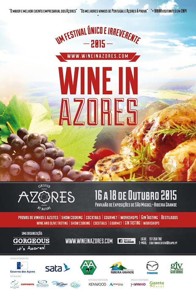 Divulgação: Wine in Azores espera mais de 12.500 visitantes - 16 a 18 Outubro - reservarecomendada.blogspot.pt