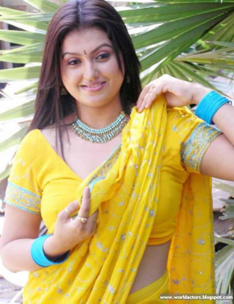 Sona Tamil Actress In Saree