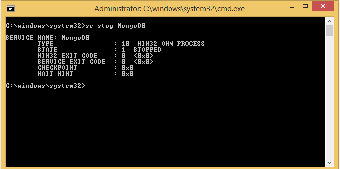 How to install MongoDB on Windows as a Service ~ CodeAndYou