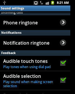 how to add a notification ringtone to android
