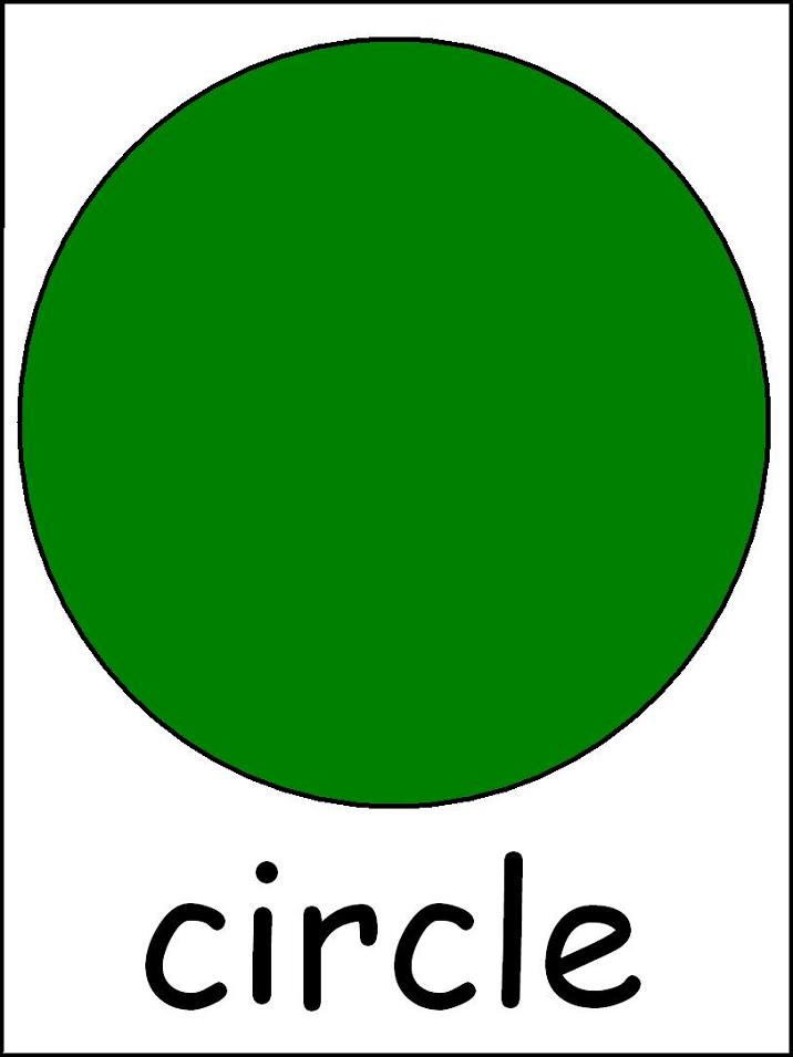 Unusual image pertaining to printable shapes flashcards