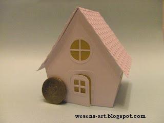 PaperHouse 4    wesens-art.blogspot.com