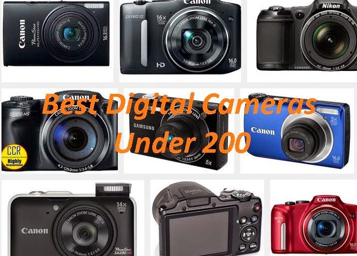 Best Digital Cameras less than $200
