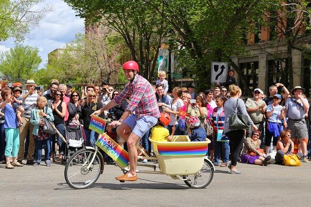 Edmonton Pride Parade 2014 Mayor Don Iveson