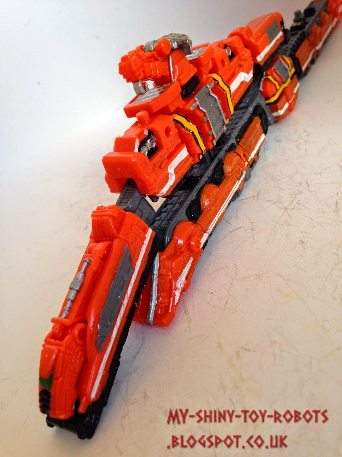 Splitting the trains