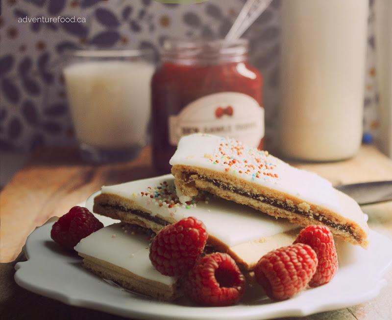 danish pastry wienerbrød baking raspberry shortbread toronto hindbaersnitter