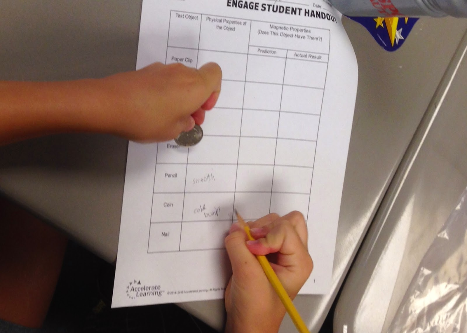 The 4th Grade May-niacs: Measuring, Comparing, and Contrasting Matter
