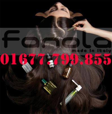 Hấp Dầu Fanola làm mượt tóc quăn, tóc mọc không thẳng nếp