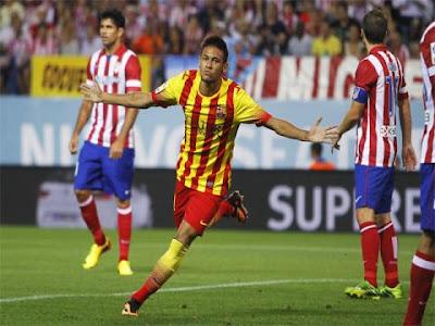Barcelona empata en Supercopa