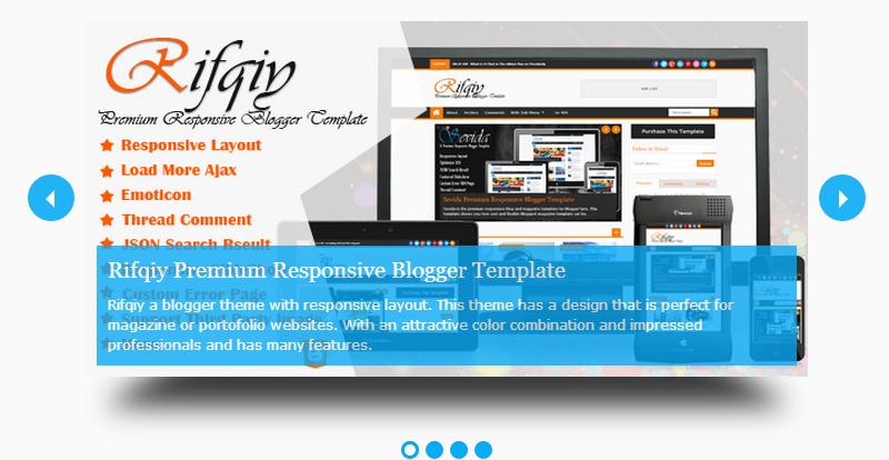 Syahira - Responsive Blogger Template Free Download