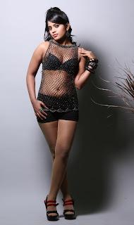 Rithika in Golden Choli Red Lehenga Saree and Black Short Bikini Spicy Portfolio Pics