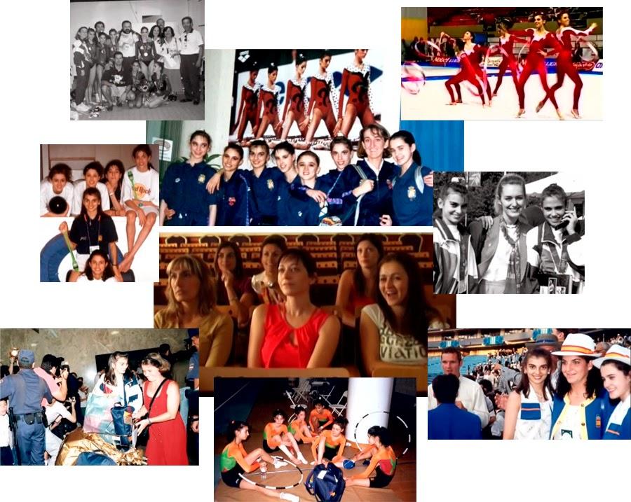 Documental sobre las campeonas olímpicas de gimnasia rítmica en Atlanta 96, Alba Caride, Almudena Cid, Tania Lamarca, María Pardo, Estela Giménez, Estíbaliz Martínez, Lorena Guréndez, Nuria Cabanillas, Marta Baldó, Maider Esparza