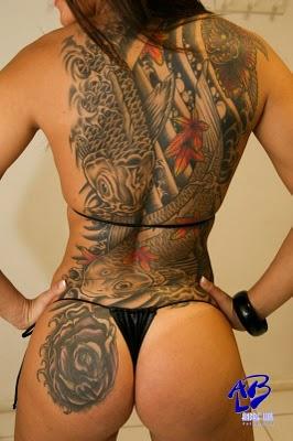 Tattoo Oriental - Algumas das mais belas tatuagens orientais