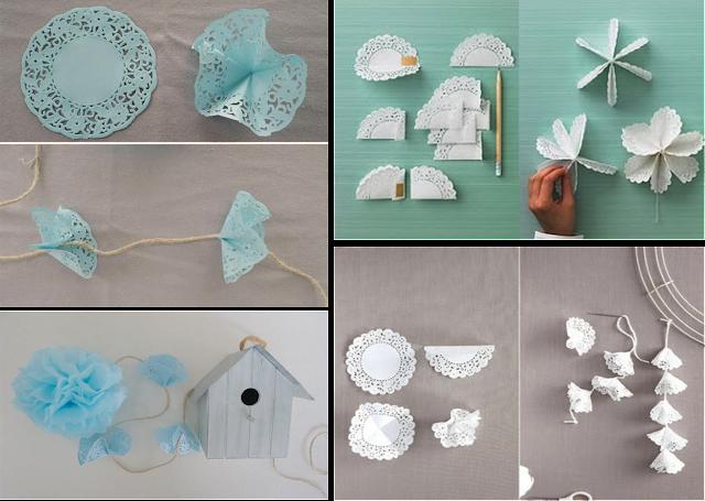 Momentips diy 4 las 1001 ideas con blondas de papel - Blondas de papel ...